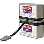 American Battery Replacement Battery Cartridge for APC BR800, BR900, BR1000, BR1200, BT1000 models, RBC32, 18029151, Batteries - Other