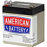 American Battery Replacement Battery Cartridge RBC46 for APC BE500