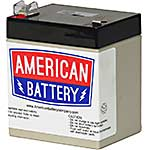 American Battery Replacement Battery Cartridge RBC45 for APC BE350