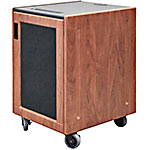 Executive Series Mobile Storage Unit, 16U, Metal Perforated Door, (12) Color Choices