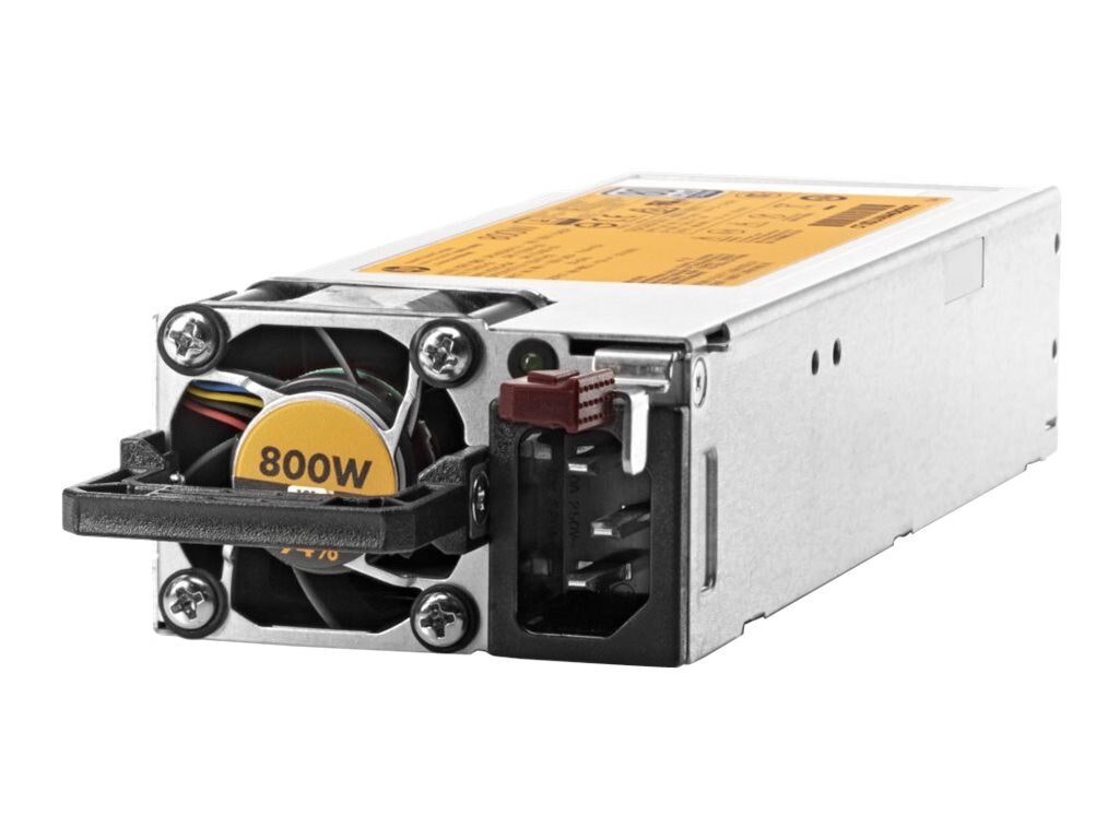 Open Box HPE 800W Flex Slot Platinum Hot Plug Power Supply Kit, 720479-B21, 31164024, Power Supply Units (internal)