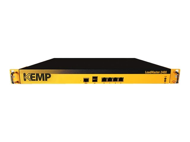 KEMP LoadMaster 2400 - load balancing device w 3Yr Basic Support, LM3-2400-B, 18003411, Network Server Appliances