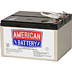 American Battery Replacement Battery Cartridge APCRBC109 for APC BN1250, BR1200, BR1500 models, RBC109, 18111497, Batteries - Other
