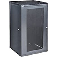 Kendall Howard LINIER Fixed Wall Mount Cabinet, 22U, Vented Door, 3142-3-001-22, 18178544, Racks & Cabinets