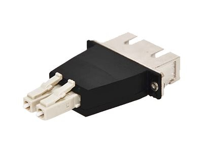 ACP-EP LC-SC F M Mulimode Duplex OM3 Fiber Optic Adapter, ADD-ADPT-LCMSCF3-MD