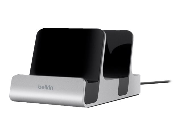 Belkin PowerHouse Charging Dock Duo (Lightning connector 30-Pin connector), F8J136TT, 19749054, Charging Stations