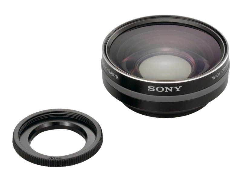 Sony Wide Conversion Lens 0.75x, VCLHGA07B, 11007363, Camera & Camcorder Lenses & Filters