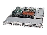 Supermicro Chassis, 1U Rackmount, EATX, 4 3.5 SAS SATA Hot Swap, DVD-ROM, FDD, 560W PS, Black, CSE-815TQ-560UB, 7968145, Cases - Systems/Servers