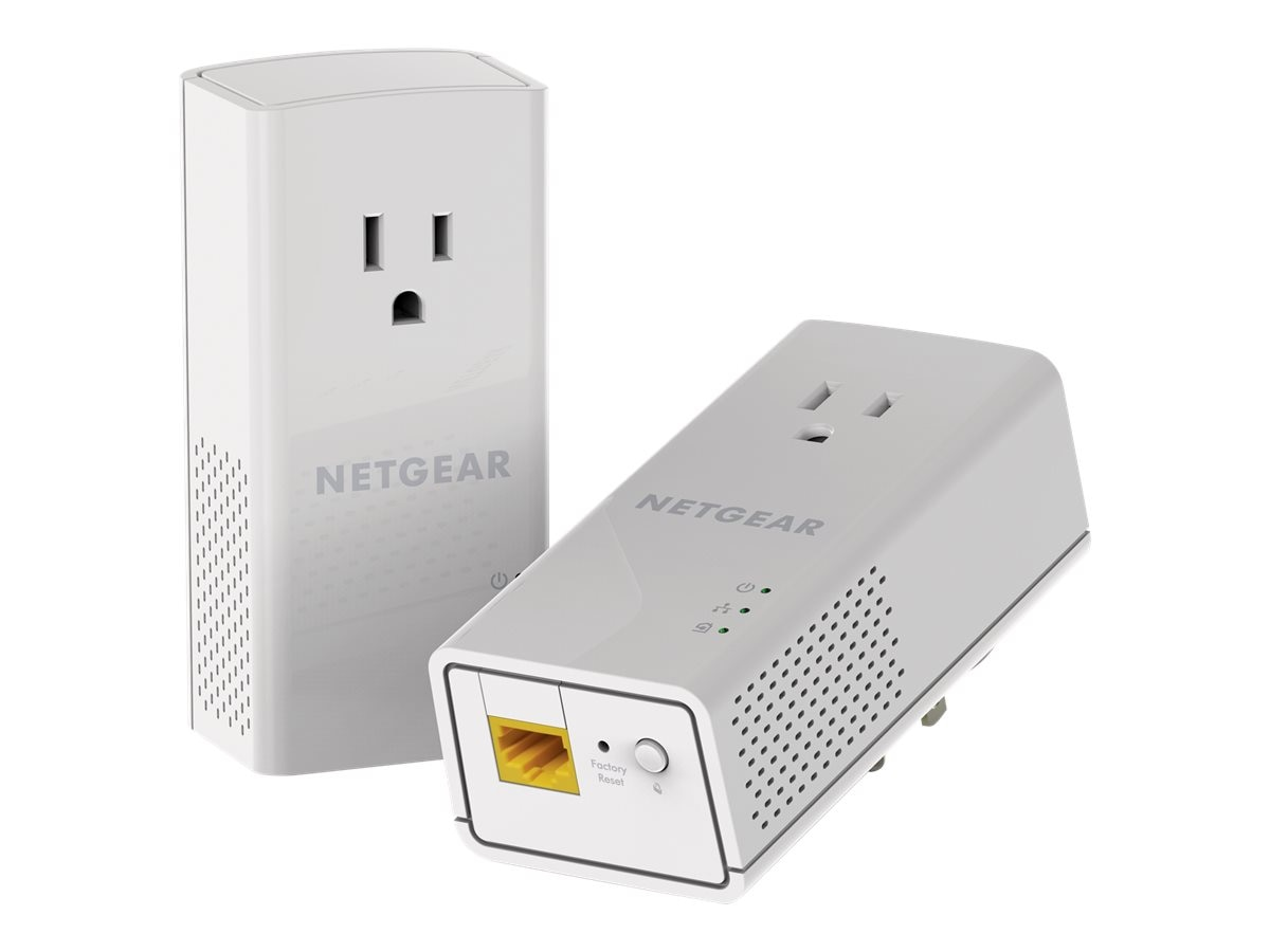 Netgear Powerline 1200 Plus Extra Outlet Adapters