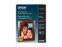 Epson 5x7 Ultra Premium Glossy Photo Paper (20-Sheets)
