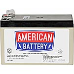 American Battery 9Ah Replacement Battery Cartridge for BP700UC, BE650BB, BE650R, BE725BB, BE650BB, BE650R-CN, BE725BB, RBC17-ABC, 18320985, Batteries - Other