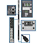 Tripp Lite Switched Metered PDU 8.6kW 208V 30A 3-Phase 0U L21-30P Input 6ft Cord (24) C13 (6) C19 Outlets TAA