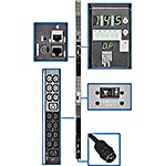 Tripp Lite Monitored PDU 14.5kW 240V 3-phase 0U CS8365C 50A Input 6ft Cord (42) C13 (6) C19 Outlets, TAA