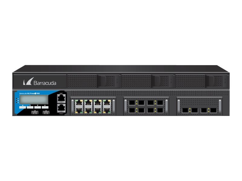 Barracuda NG Firewall F900 CFE w EU & IR (1 Year)