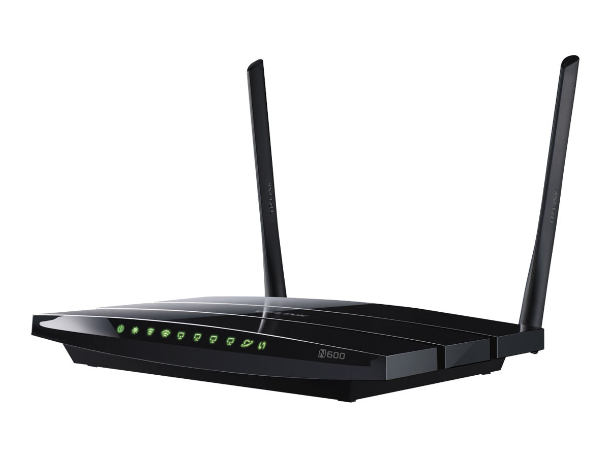 TP-LINK Wireless N600 Dual Band Router, Gigabit, 2.4 5Ghz 300Mbps, 2 USB port, Wireless On Off Switch, TL-WDR3600, 14899053, Network Routers