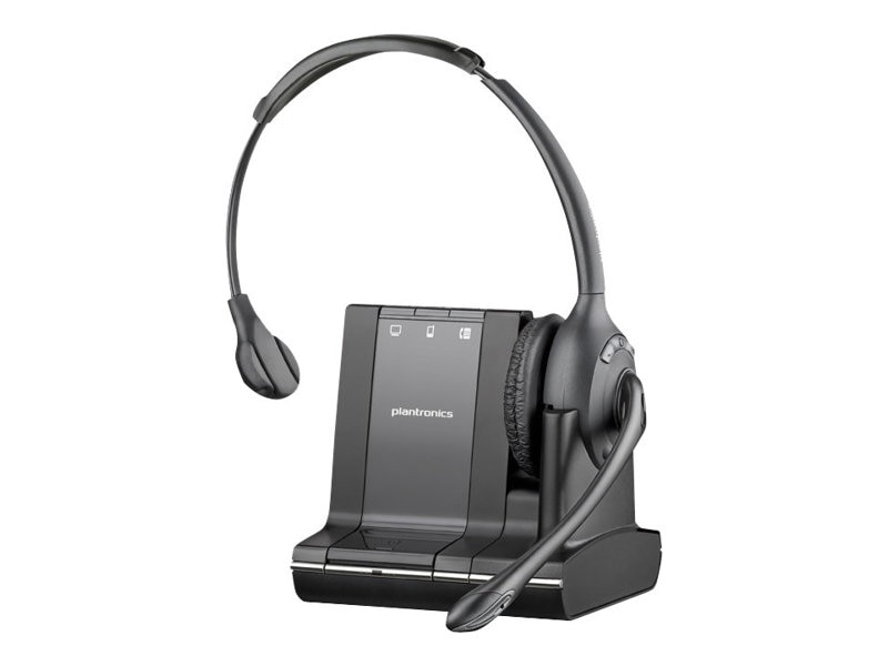 Plantronics Savi W710 Over-the-Head Mono Wireless Headset System, 83545-01, 13014532, Headsets (w/ microphone)