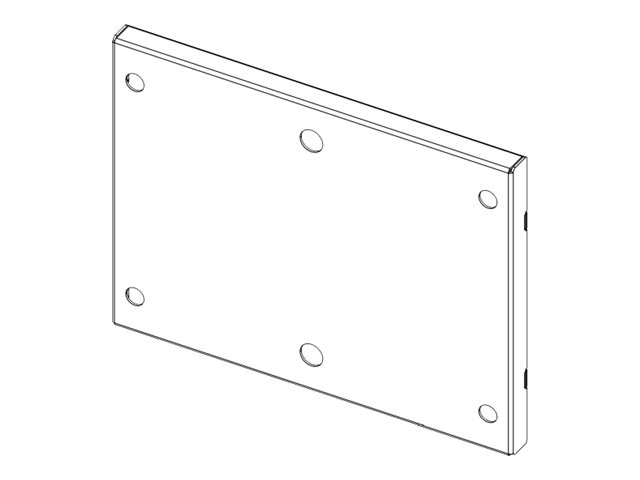 Rubbermaid Bracket for Sharps Container for RX Cart Only, 1782681, 12881255, Computer Carts - Medical