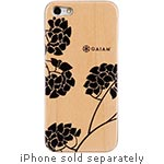 Allsop Wood Case for iPhone 5 5S, Hydrangea