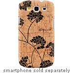 Allsop Natural Cork Case for Samsung Galaxy S3, Hydrangea