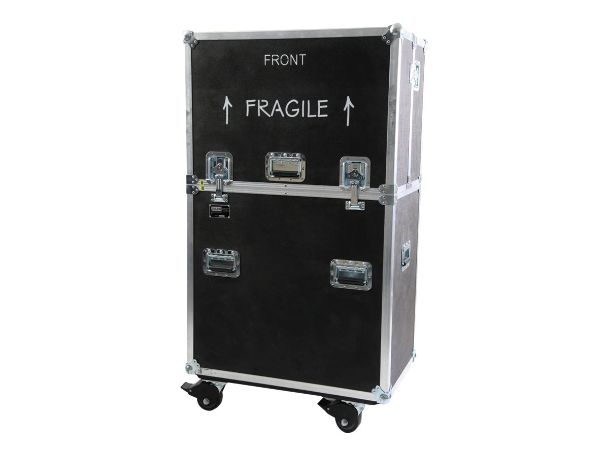 Jelco RotoLift Lift Case for 60 to 70 Flat Screen Displays, Wheeled, ELU-70R, 17234428, Carrying Cases - Other