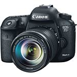 Canon EOS 7D Mark II Camera with EF-S 18-135mm IS STM Lens Kit, Black