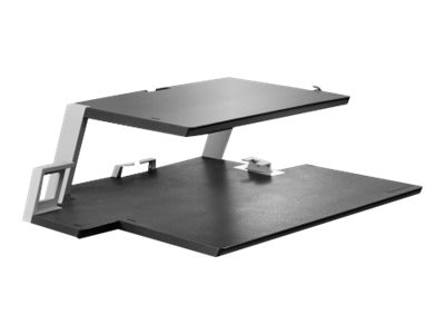 Lenovo Dual Platform Notebook and Monitor Stand, Black, 4XF0L37598