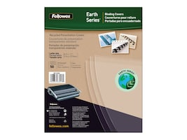 Neato Recycled Binding Covers, Clear, Letter, 50-Pack, 5240001, 15067398, Office Supplies