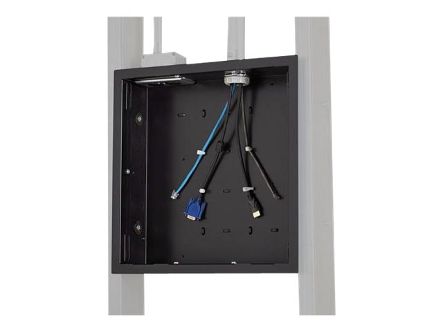 Chief Manufacturing Large In-Wall Storage Box with Flange