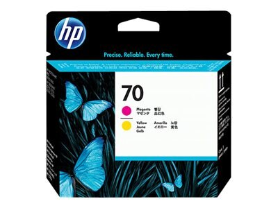 HP 70 Magenta & Yellow Printhead for Select PhotoSmart Professional Printers, C9406A