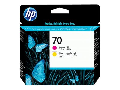 HP 70 Magenta & Yellow Printhead for Select PhotoSmart Professional Printers