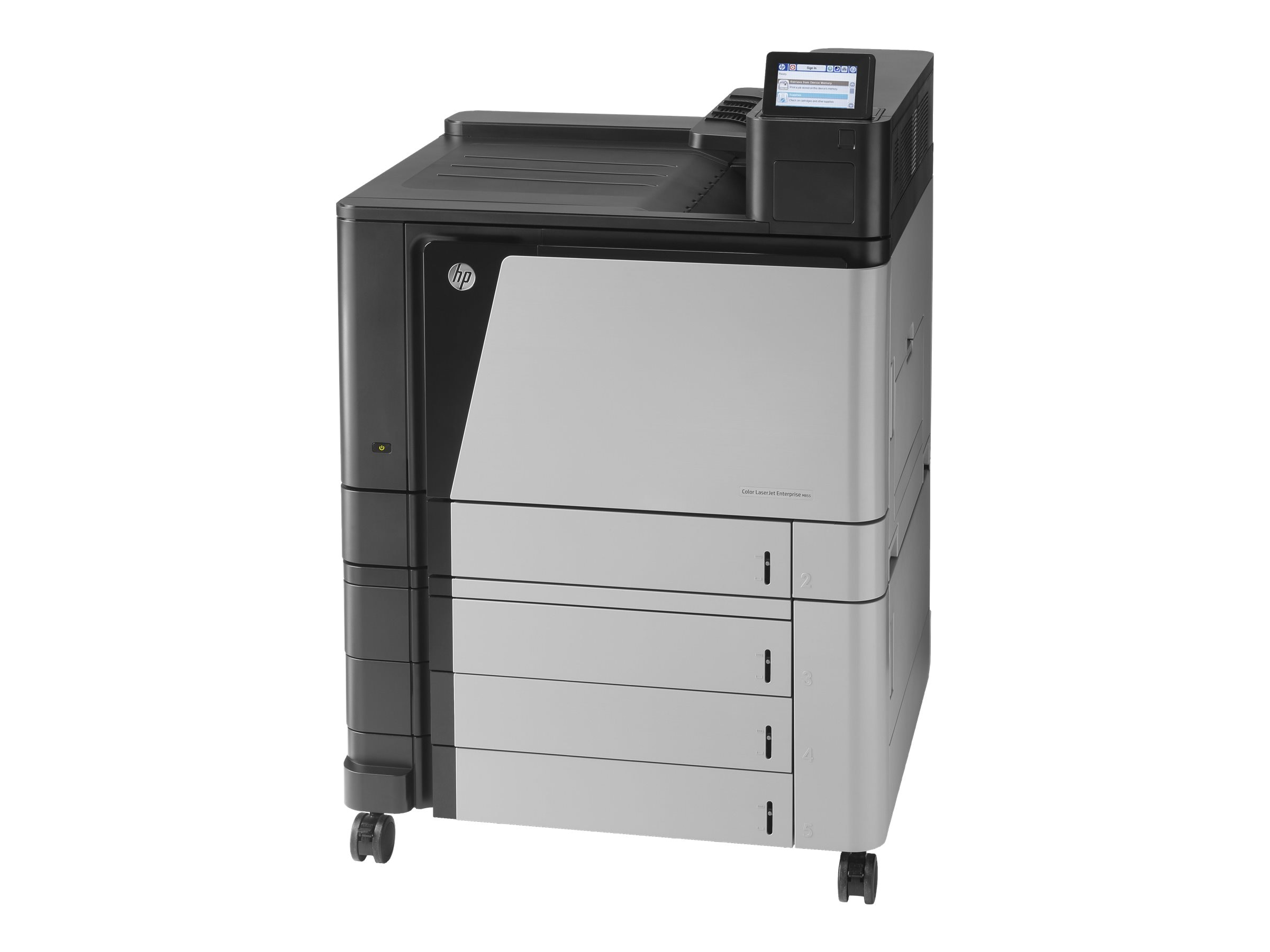 HP Color LaserJet Enterprise M855xh Printer