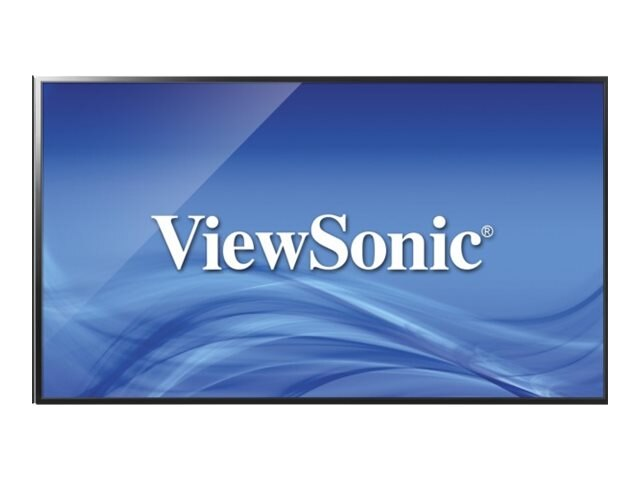 ViewSonic 43 CDE4302 Full HD LED-LCD Commercial Display, Black