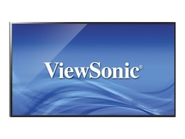 ViewSonic 43 CDE4302 Full HD LED-LCD Commercial Display, Black, CDE4302, 30870031, Monitors - Large Format
