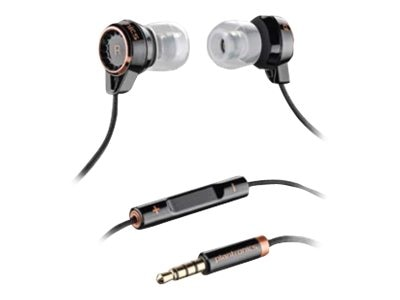 Plantronics Stereo Headphones with Mic for iPhone MP3, 86110-11, 14543057, Headsets (w/ microphone)