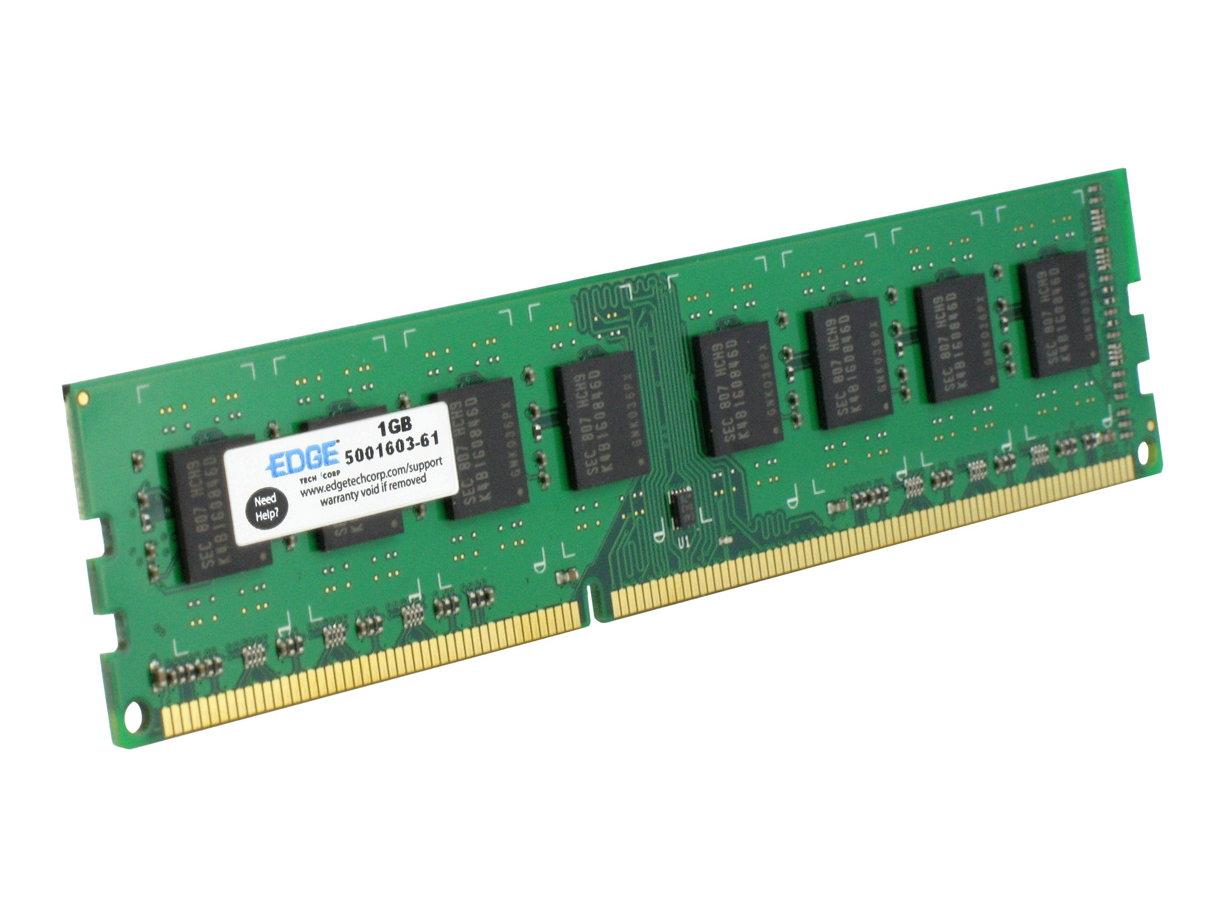 Edge 4GB PC3-12800 240-pin DDR3 SDRAM DIMM, PE231613, 13649095, Memory