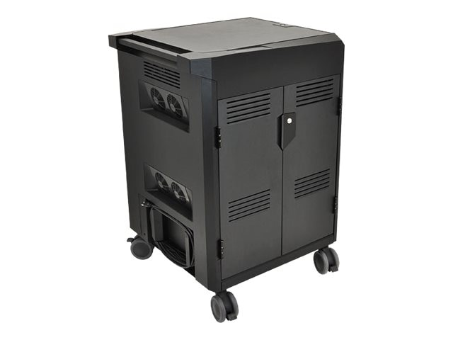 Ergotron PS Laptop Management Cart, 24-249-085, 14712682, Computer Carts