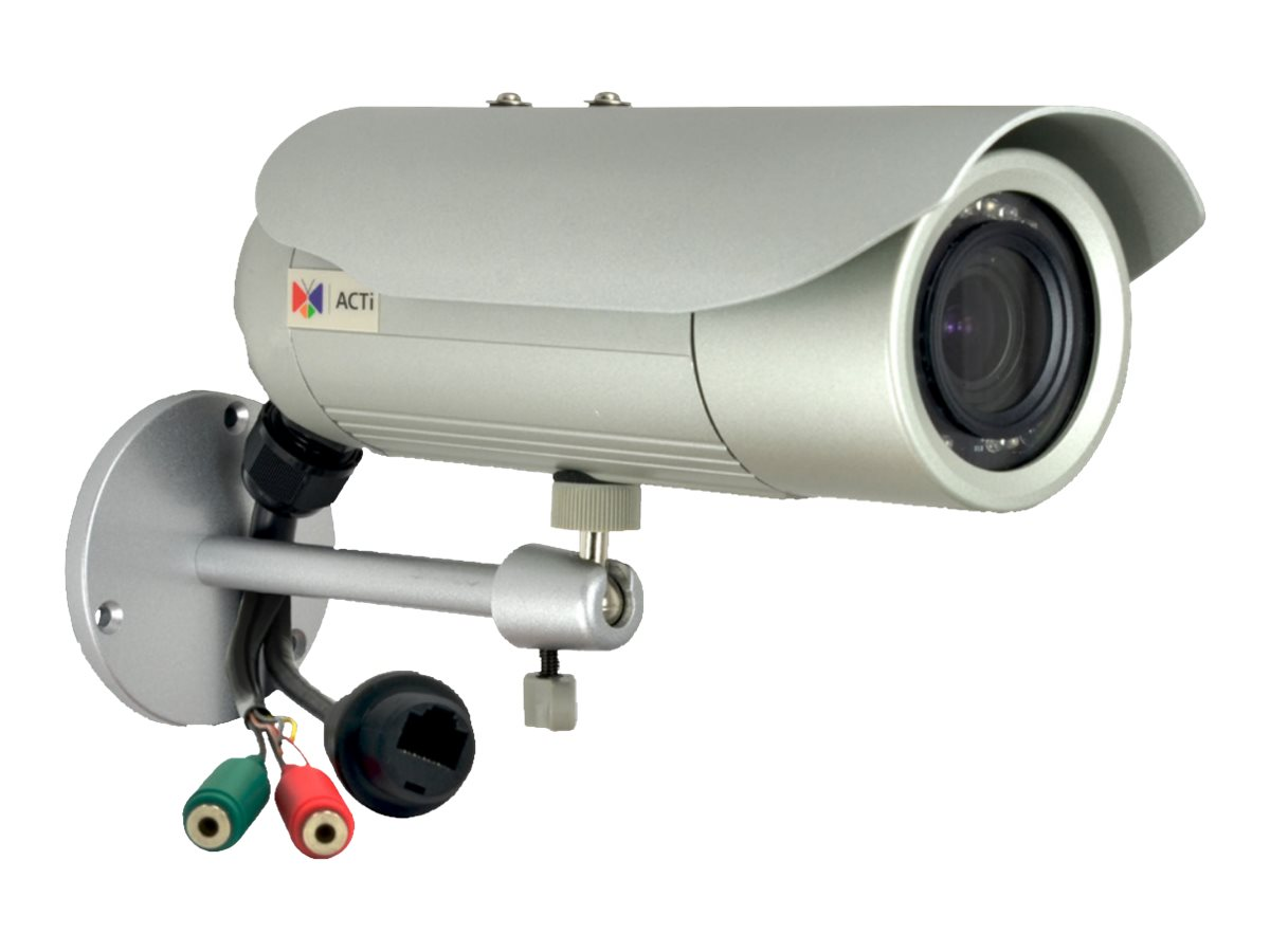 Acti 3MP Bullet with D N, Adaptive IR, Basic WDR, Vari-focal lens