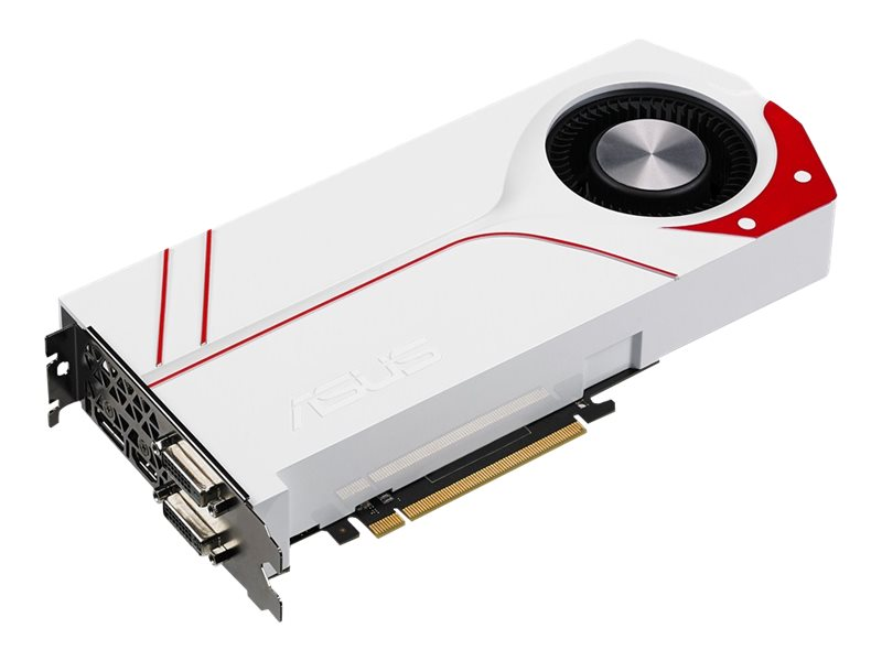Asus GeForce GTX 970 PCIe 3.0 Graphics Card, 4GB GDDR5, TURBO-GTX970-OC-4GD5, 20396065, Graphics/Video Accelerators