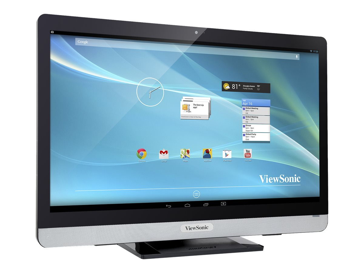 ViewSonic VSD231 Smart Display AIO Client Tegra QC T40S 1.6GHz 2GB 8GB SSD bgn BT WC 23 FHD MT Android 4.3, VSD231-BKA-US0