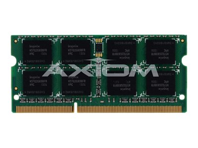 Axiom 4GB PC3-12800 DDR3 SDRAM SODIMM for Select Models, AX27693524/1, 15527227, Memory