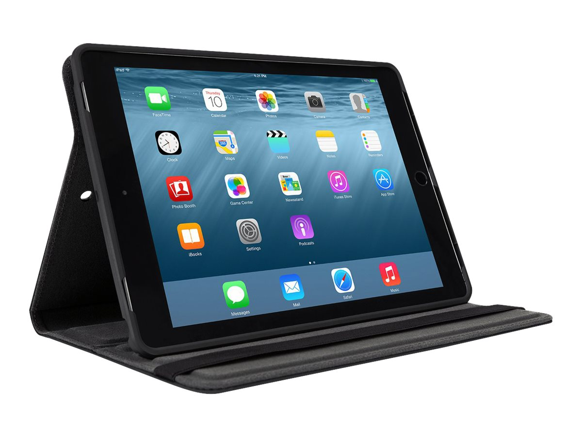 Targus Versavu Classic 360 Case for iPad Air 3 2 1, Black, THZ634GL