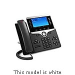 Cisco IP Phone 8841, White