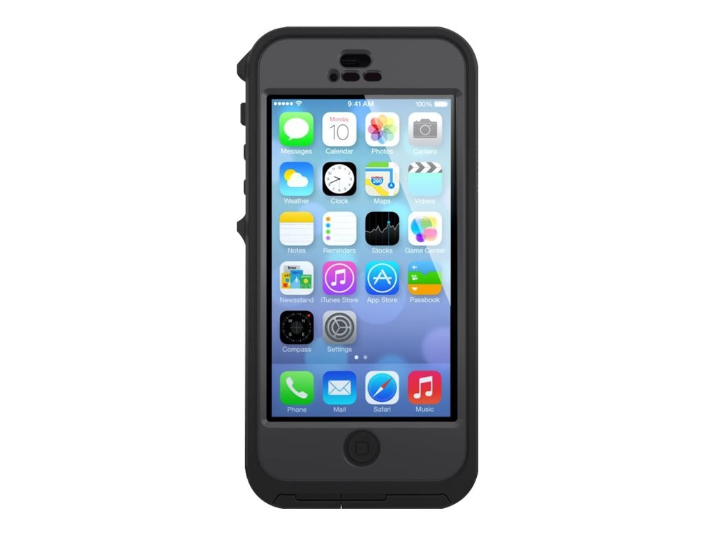 OtterBox Preserver Series for iPhone 5 5S, Carbon, 77-36351, 17695195, Carrying Cases - Phones/PDAs