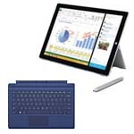 Scratch & Dent Microsoft Bundle Surface Pro 3 Core i7 256GB SSD with Blue Type Cover, 5D3-00001-4, 31777171, Tablets