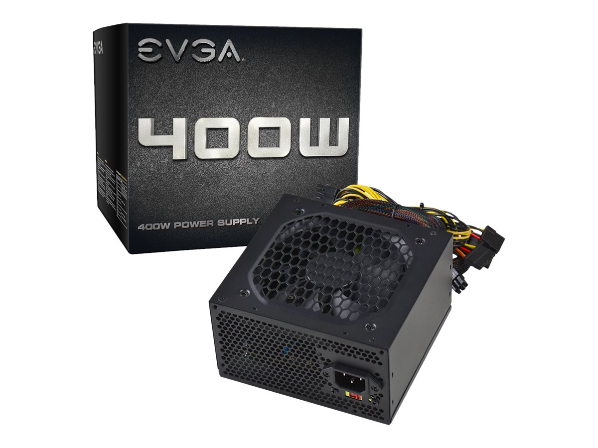 eVGA 400W 30A 12V Power Supply, 100-N1-0400-L1