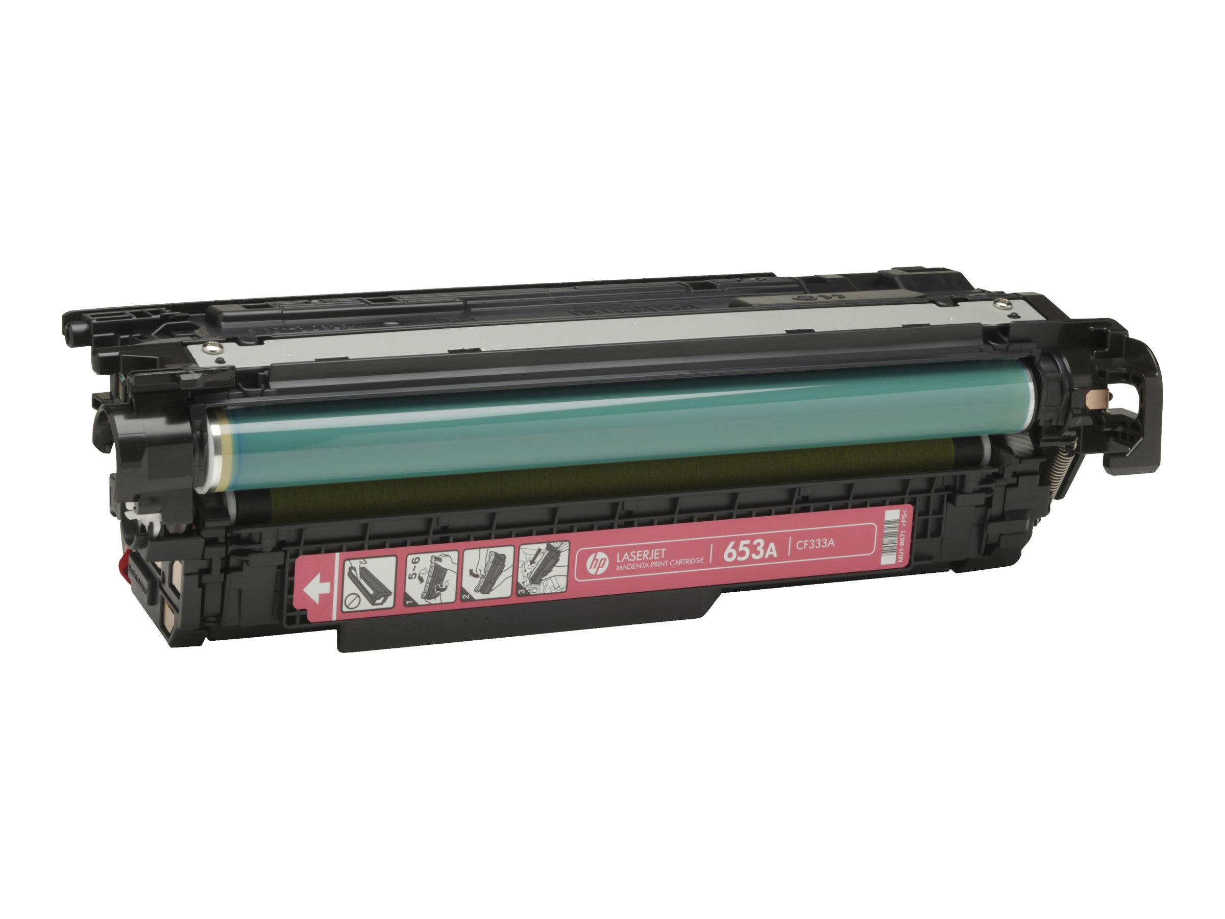 HP 654A (CF333A) Magenta Toner Cartridge, CF333A, 16850763, Toner and Imaging Components