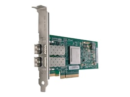 Lenovo QLogic 8 Gb 2-port Fibre Channel HBA PCIe Adapter Card for System x Servers, 42D0510, 8891469, Host Bus Adapters (HBAs)