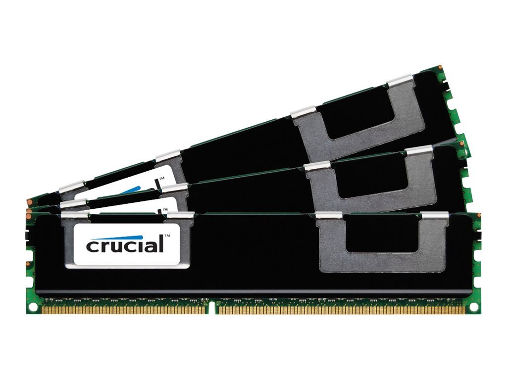 Crucial 12GB PC3-12800 240-pin DDR3 SDRAM DIMM Kit, CT3K4G3ERSLD8160B, 14979424, Memory