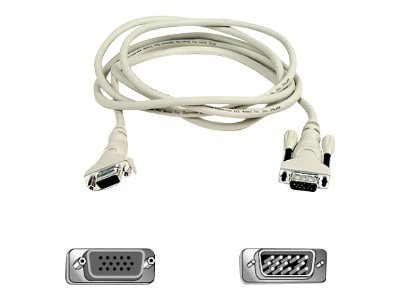 Belkin Pro Series VGA Monitor Extension Cable, 25ft, F2N025-25, 422785, Cables