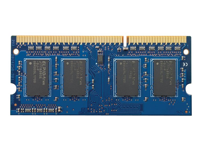 HP 8GB PC3-12800 204-pin DDR3 SDRAM SODIMM for Select Models, H6Y77AA#ABA, 16181942, Memory